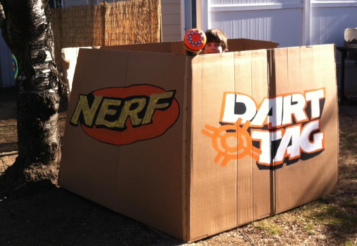 Nerf Wars Birthday Party Kerricreates